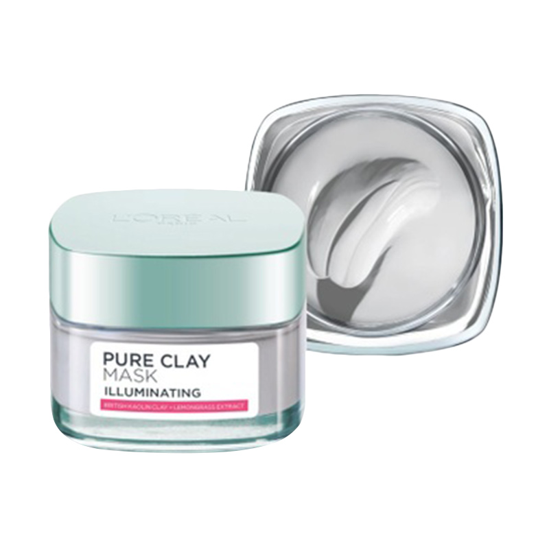 L Oreal Paris Pure Clay Illuminating Mask