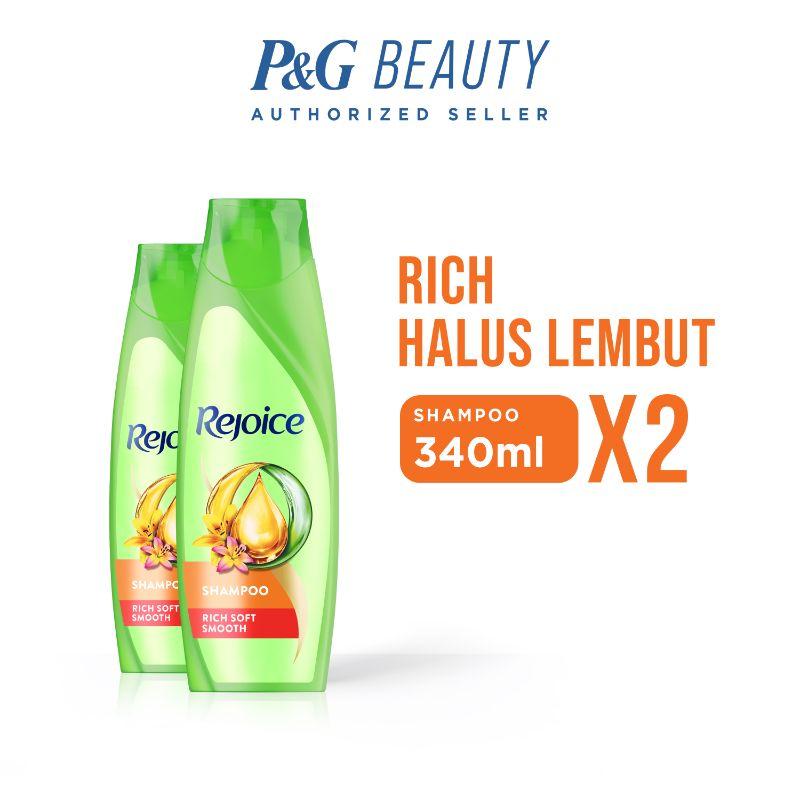 Rejoice Rich Shampoo 340 mL 2 pcs