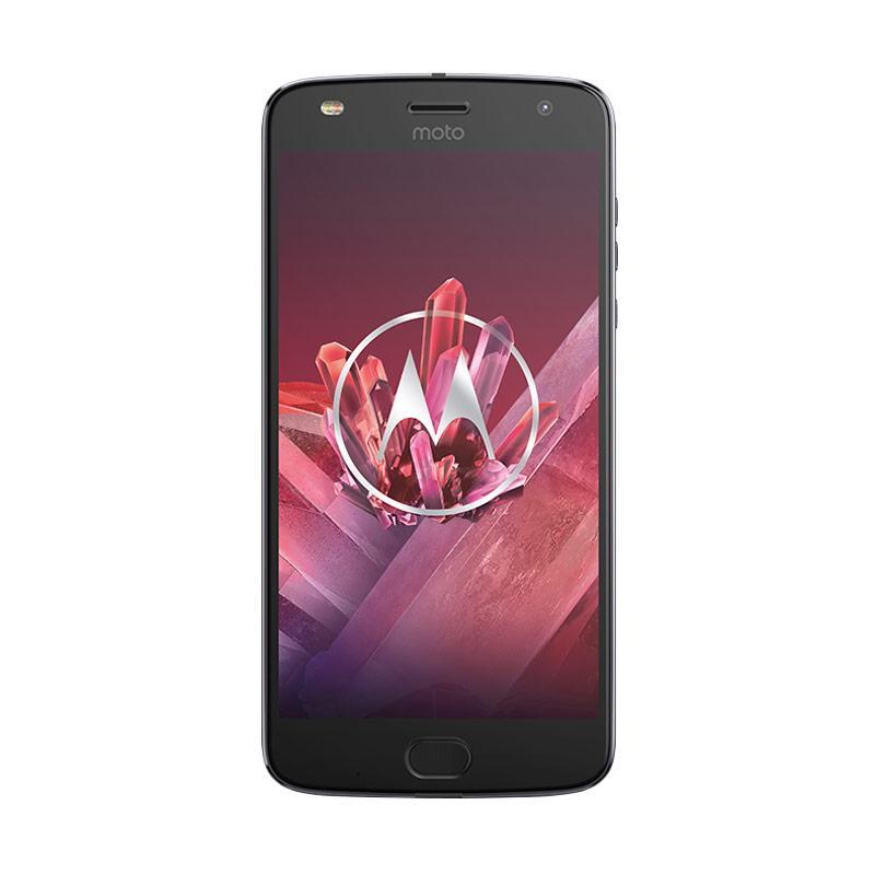 Motorola Moto Z2 Play Smartphone - Lunar Grey [64 GB/4 GB] + Free Joby Grip Tight & ADP