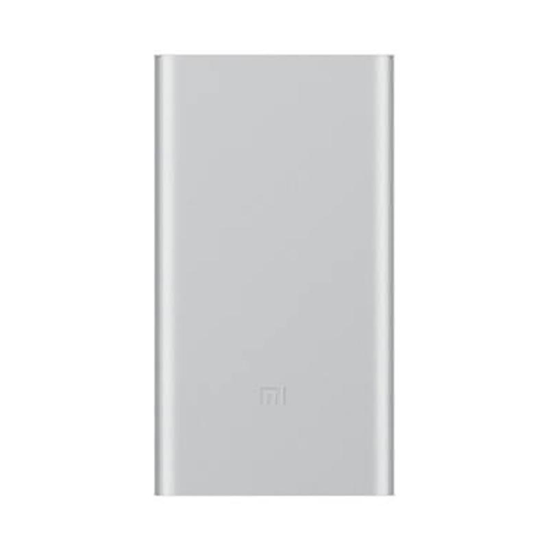 Xiaomi Mi 2 Powerbank - Silver [10000mAh] Garansi Resmi