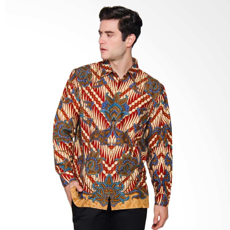 Harga Baju Batik Pria Danar Hadi: Jual Danar Hadi Panjang Print Motif Parang Randu Sari