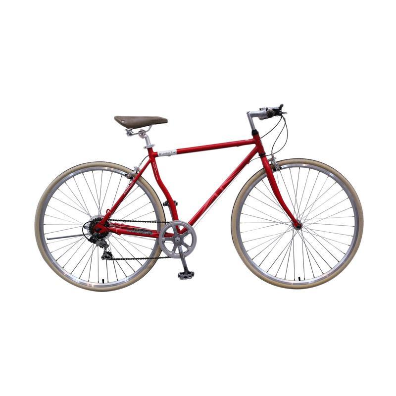harga London Taxi Roadbike 700 C 6 Speed Sepeda - Red [Jadetabek] Blibli.com