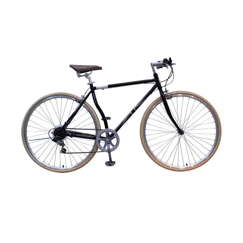 harga London Taxi Roadbike 700 C 6 Speed Sepeda - Black [Jawa Kota] Blibli.com