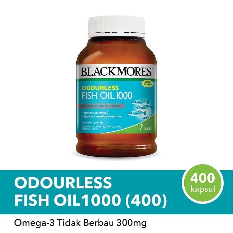 Blackmores Odourless Fish Oil 1000 400 Caps