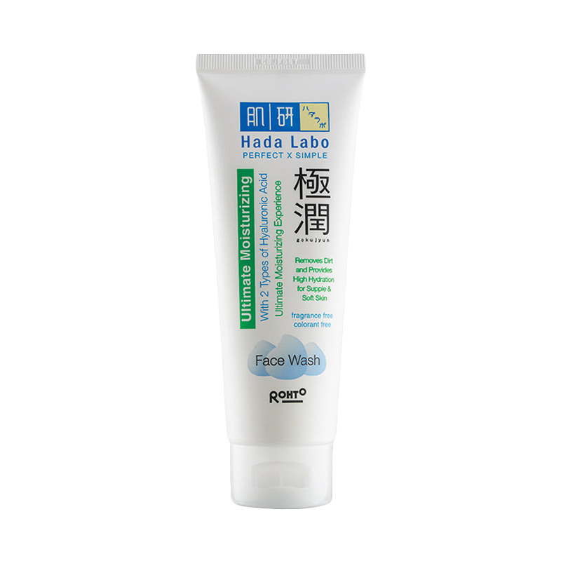 Hada Labo Gokujyun Ultimate Moisturizing Face Wash [100 g]