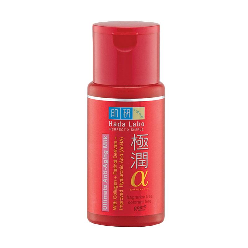 Hada Labo Gokujyun Alpha Ultimate Anti Aging Milk [100 mL]