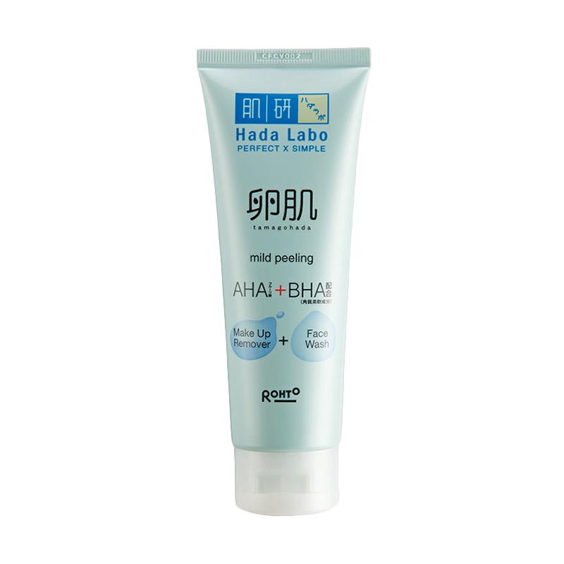 Hada Labo Tamagohada Ultimate Mild Peeling Face Wash Make Up Remover[100 g]