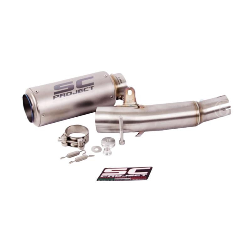 harga SC Project Titanium CRT Silencer Knalpot Motor for Yamaha R6 Blibli.com