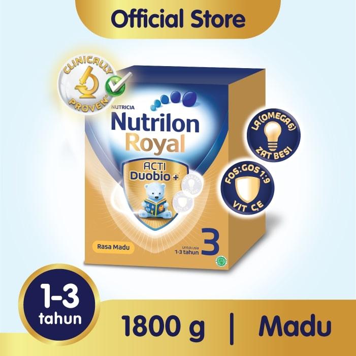 Nutrilon Royal Pronutra 3 Madu Susu Formula 1800g