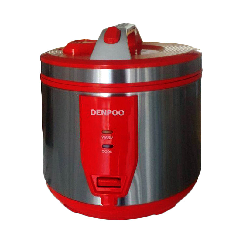 Denpoo DMJ811 Rice Cooker - Merah [1.8L]