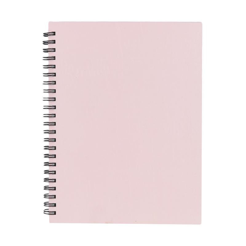 Karisma 748685 Double Wire Kwarto Buku Tulis - Faded Pink