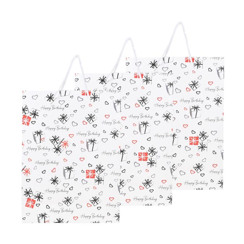 Karisma 740561 Kemeja Happy Birthday Kado Shopping Bag [3 pcs]