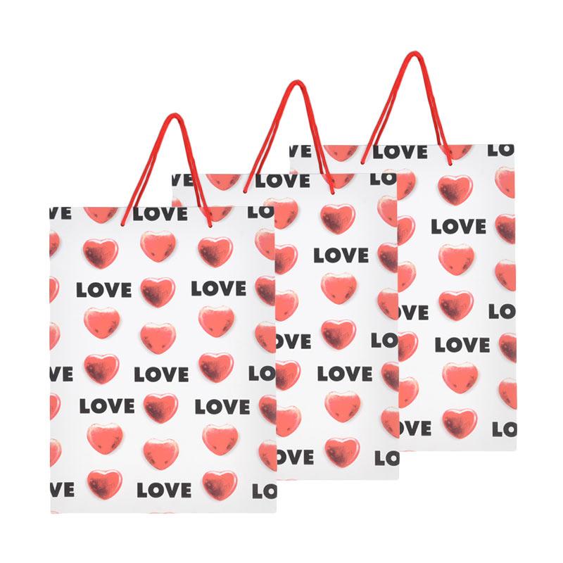 Karisma 740562 Kemeja Fancy 2 Love Shopping Bag [3 pcs]