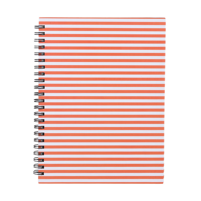 Karisma 748694 Double Wire Kwarto Garis Buku Tulis - Orange