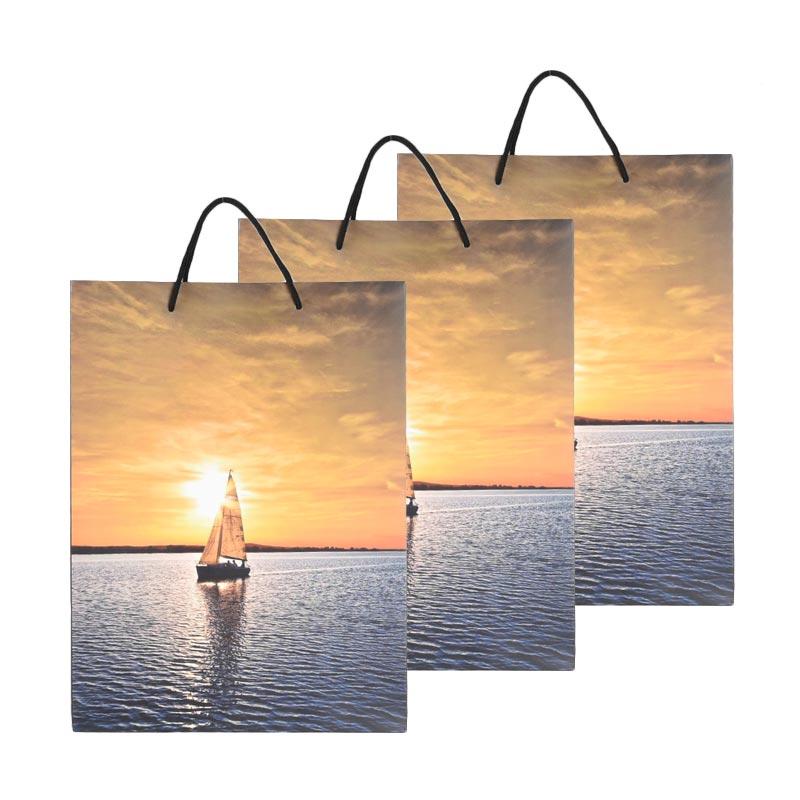 Karisma 742383 Kemeja Kapal Layar Shopping Bag [3 pcs]
