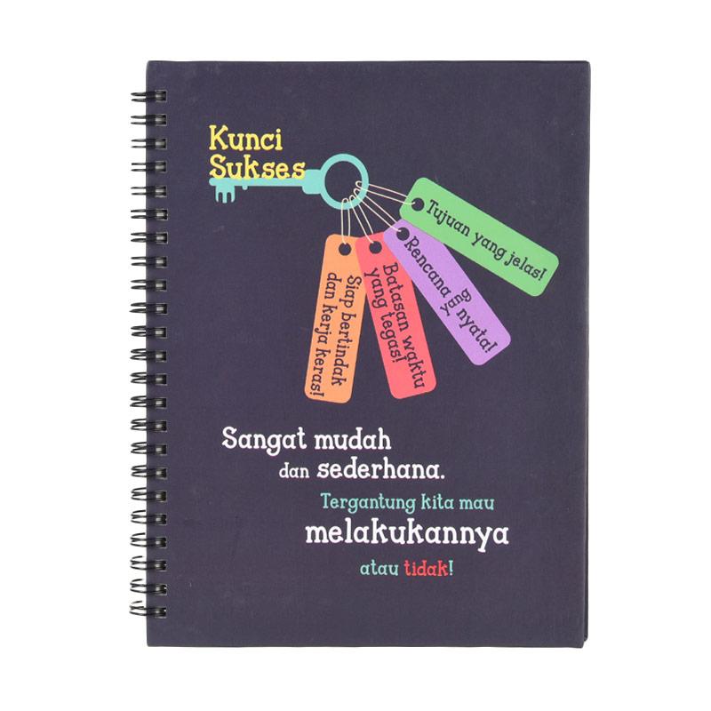 Karisma 749149 Double Wire Kwarto Kunci Sukses Note Book