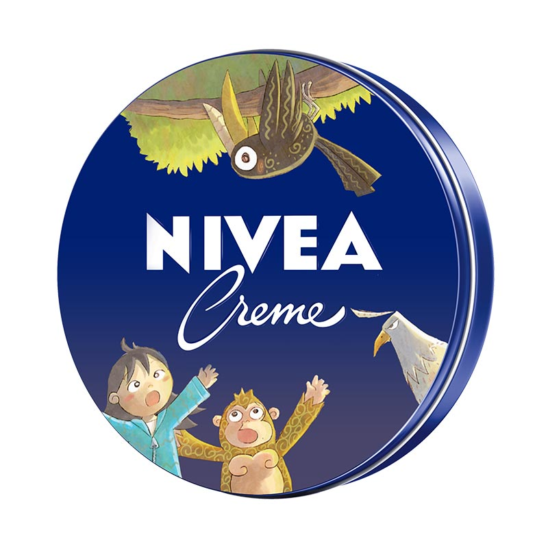 Nivea Creme Tin [60 mL] - Special Edition Lobu Storybook