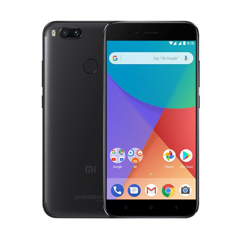 HICEH - Xiaomi Mi A1 Smartphone - Black [64GB/4GB/Resmi TAM]
