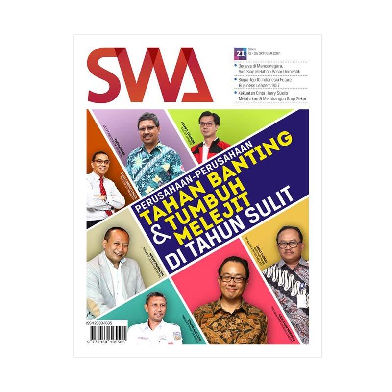 SWA Edisi 21-2017 Perusahaan-perusahaan Tahan Banting dan Tumbuh Melejit di Tahun Sulit Majalah
