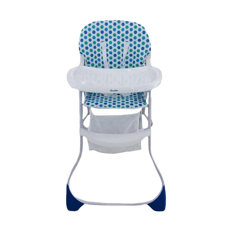 Cocolatte BCX44 High Chair Kursi Makan Bayi - Blue Dot