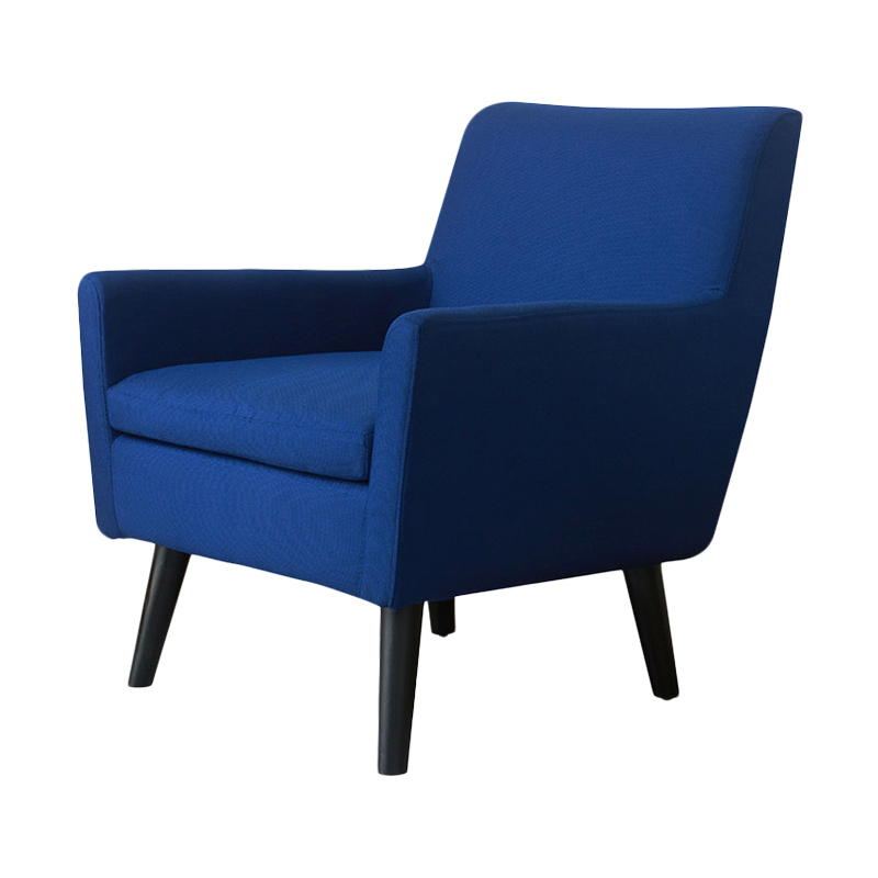 Olafur Lou Chair Kursi - Ultramarine Blue