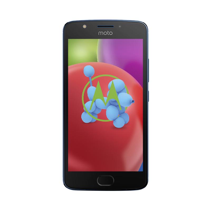 Motorola Moto E4 Smartphone - Lunar Grey [16GB/2GB] + Sandisk Memory Card 16GB