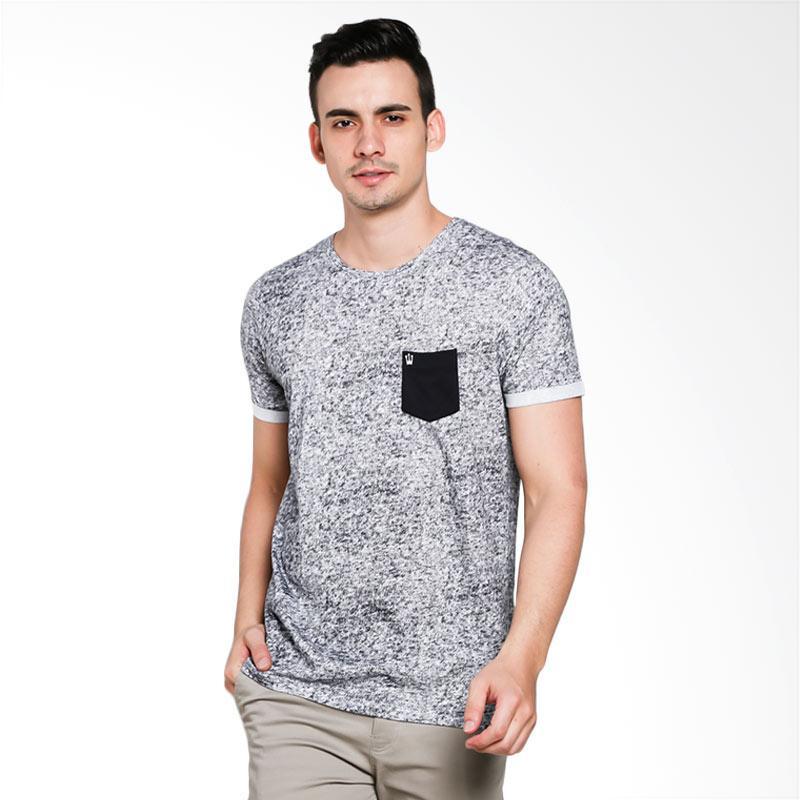 3SECOND 9101 Men Tshirt - Black