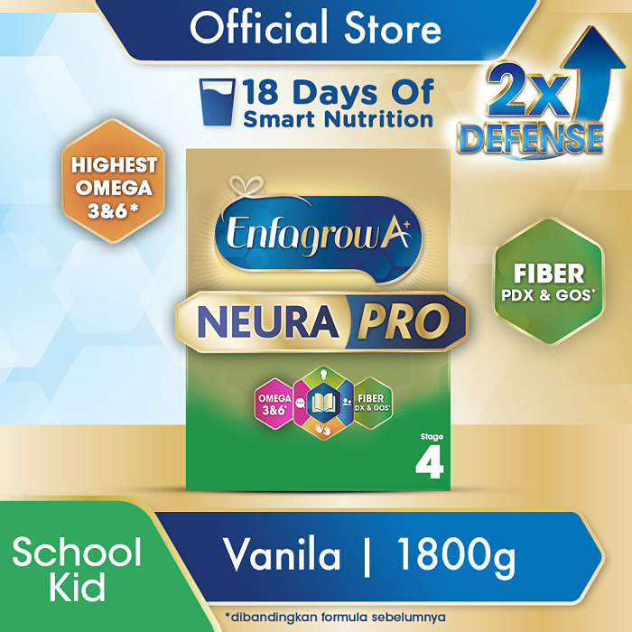 Enfagrow A 4 Susu Formula Pertumbuhan Balita