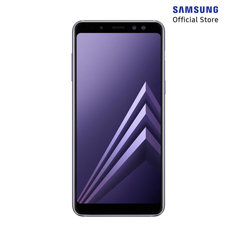 Samsung Galaxy A8 Smartphone - Orchid Gray [32GB/ 4GB]