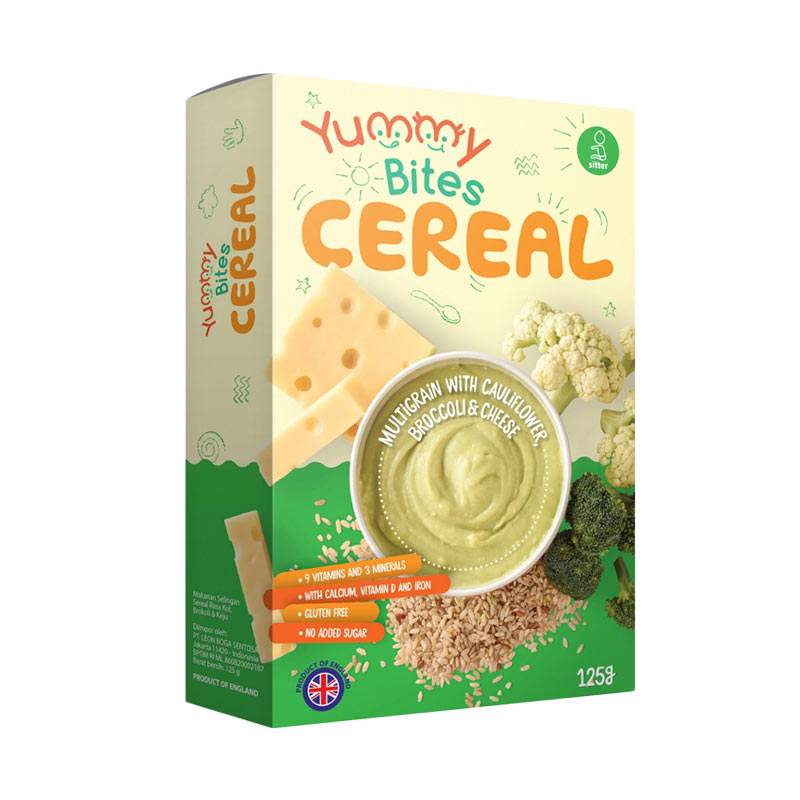 Yummy Bites Cereal Multigrain with Cauliflower Broccoli & Cheese [125 g]