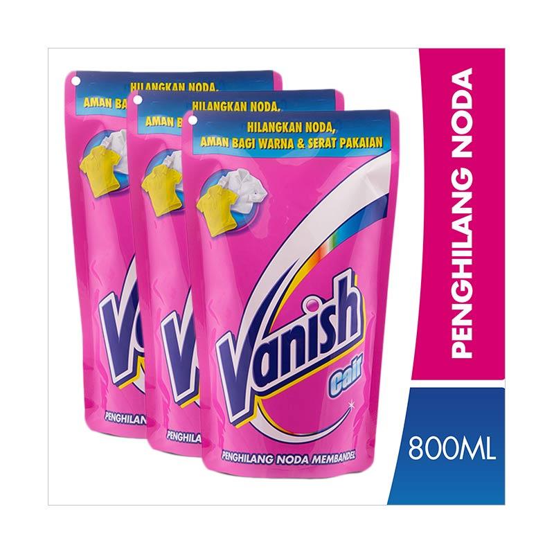 Vanish Penghilang Noda Pouch [800 mL/3 pcs]