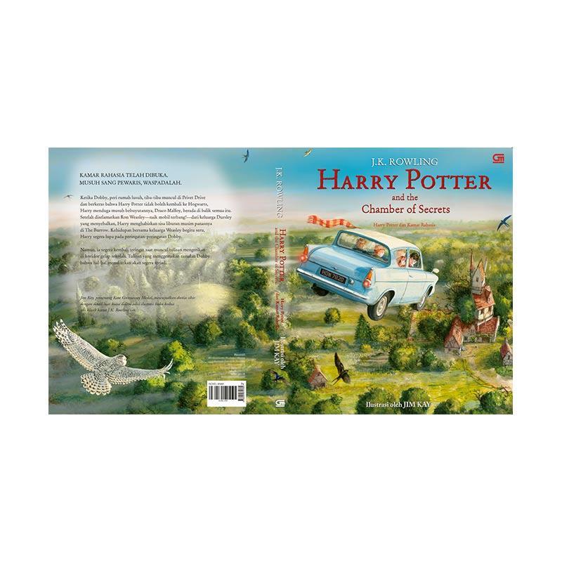 Pre Order Gramedia Harry Potter dan Kamar Rahasia by J.K. Rowling Buku Fiksi [Illustrated Edition/ 9786020379784]