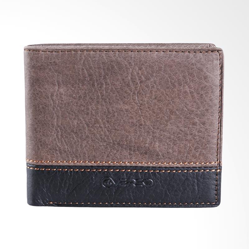 harga @VERSO Mens Wallet - Brown Black Blibli.com