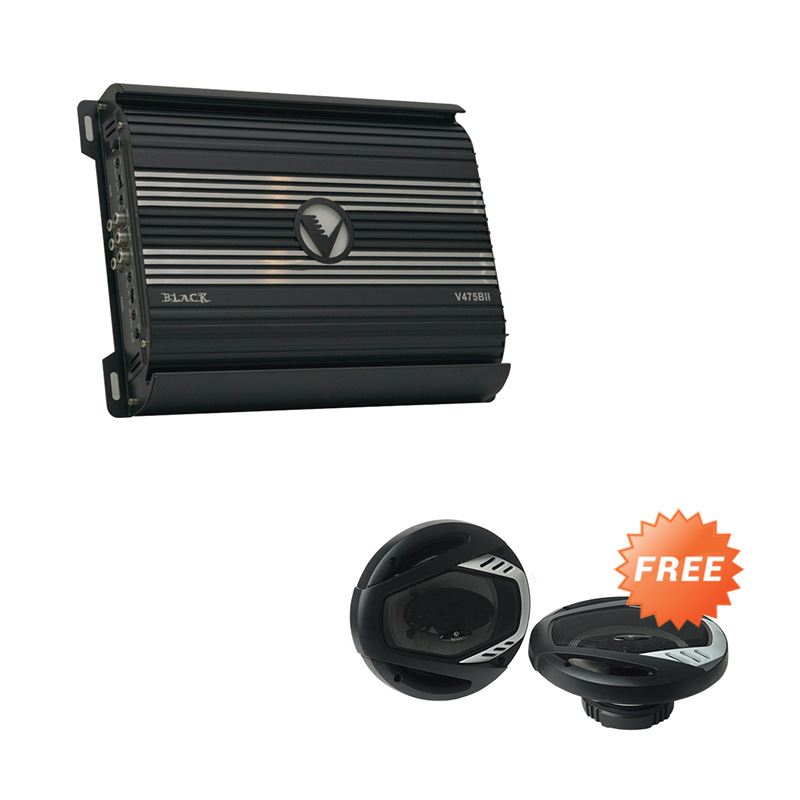 jual venom black series v475bii 4ch amplifier free venom diablo vx603dw speaker coaxial online. Black Bedroom Furniture Sets. Home Design Ideas