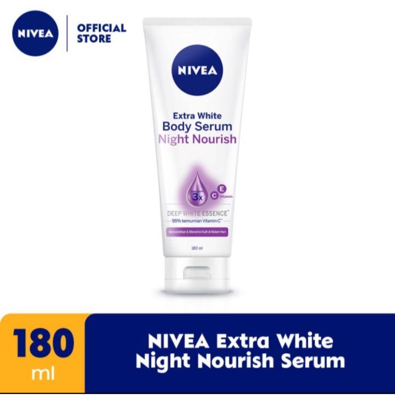 Nivea Extra White Night Nourish Serum [180 mL]