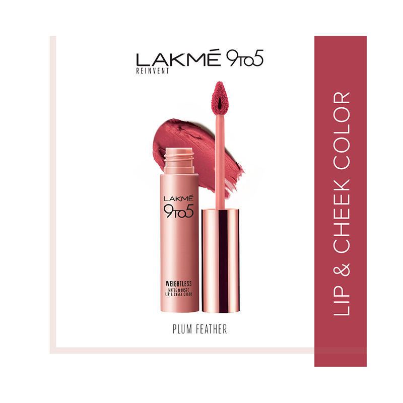 Lakme 9to5 Reinvent Weightless Matte Lip Cheek Color