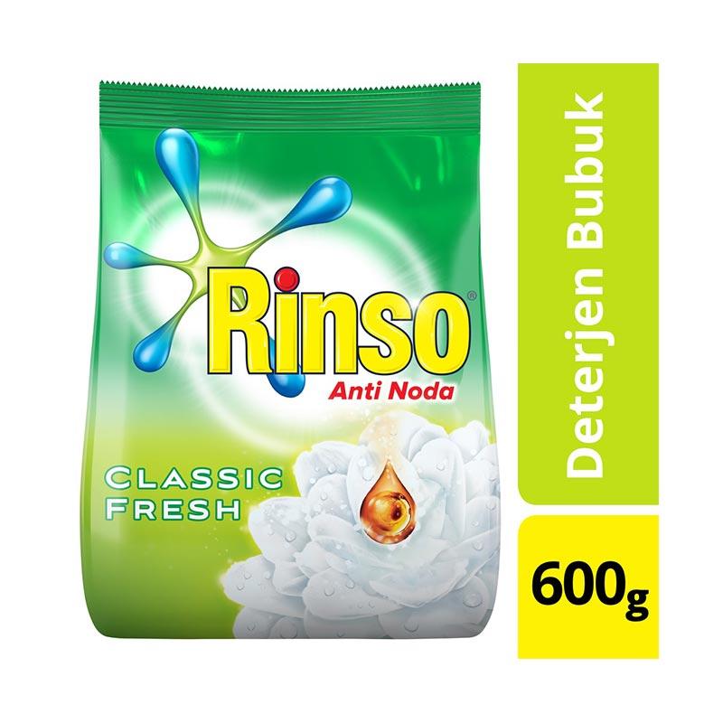 Rinso Anti Noda Classic Fresh Powder Detergent [600 g]