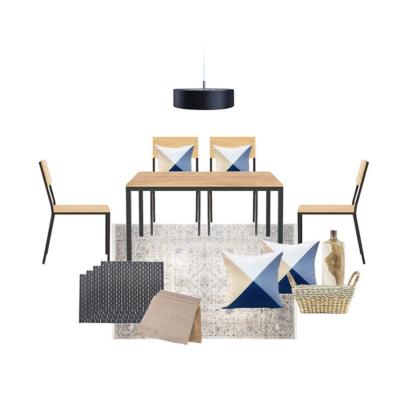 Olafur Soft Spot Dining Set Package