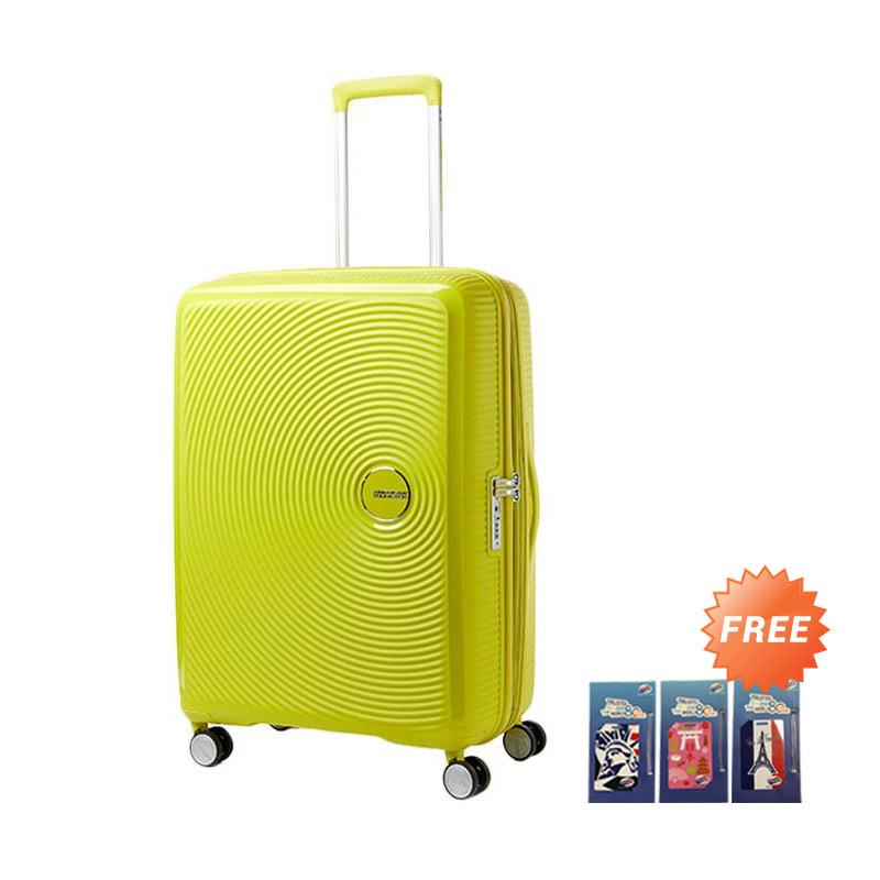 Jual American Tourister 69 25 EXP TSA Curio Spinner Hardcase Koper