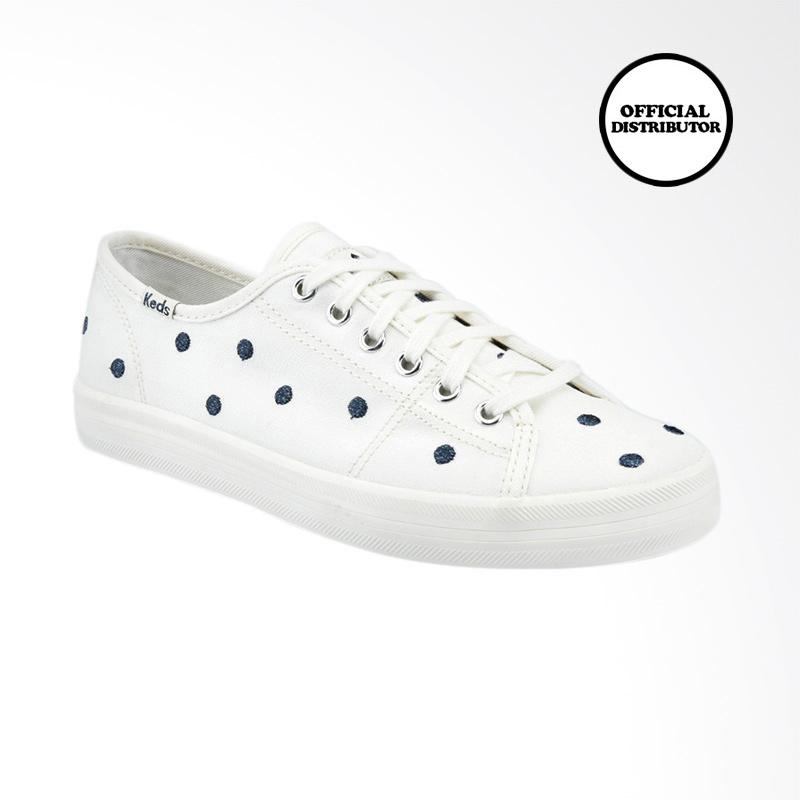 √ Keds Kdz-wf59123 Kickstart Kate Spade Sepatu Wanita - Pristine French Navy  Terbaru September 2021 harga murah - kualitas terjamin | Blibli