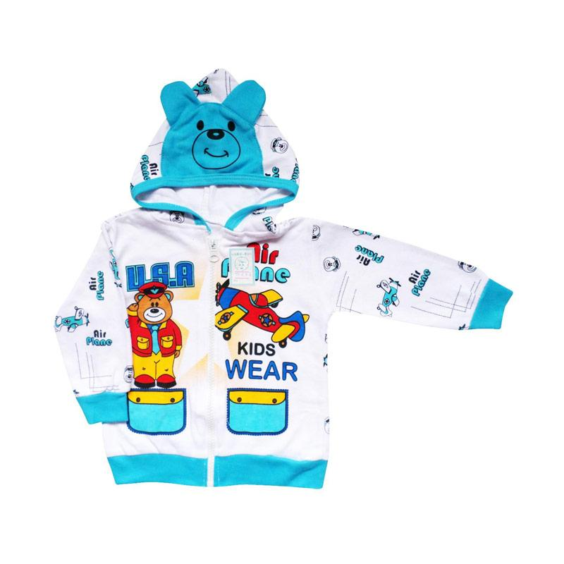 Jual Skabe Baby 0246 Jaket Bayi Laki-laki - Putih Diskon Murah
