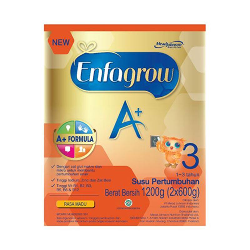 Jual Enfagrow A Rasa Madu Tahap 3 Susu Pertumbuhan [1200 g/ 1