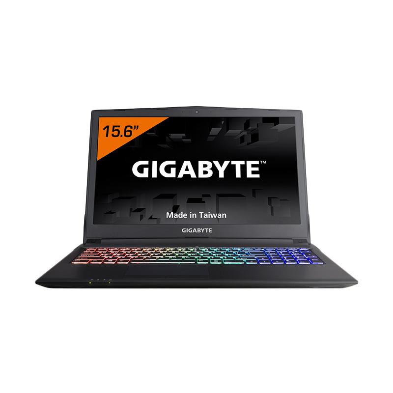 "Gigabyte Sabre P45-G HDD-SSD Gaming Laptop [i7/ HDD 1TB+SSD m.2 128GB/ 8GB DDR4/ GTX 1050 GDDR5 4GB/ DOS/ 15.6""/ 2Y Warranty] + Backpack + Mouse"