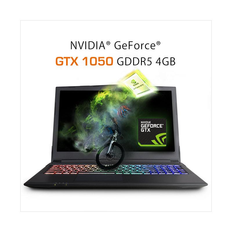 Kamis Ganteng Gigabyte Sabre P45-G HDD-SSD Gaming Laptop [i7/ HDD 1TB+SSD  m 2 128GB/ 8GB DDR4/ GTX 1050 GDDR5 4GB/ DOS/ 15 6