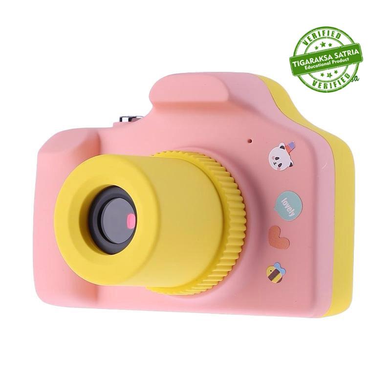 Al Qolam Super Cute Camera Pink Yellow