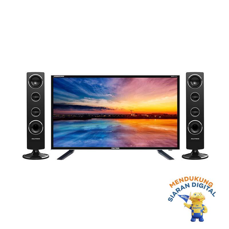 FS - POLYTRON PLD32T7511 TV LED - Hitam [Tower CinemaX/ 32 Inch]