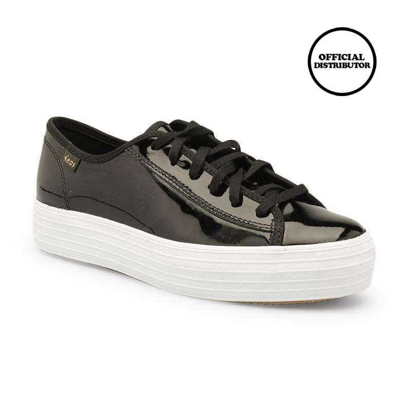 √ Keds Kdz-wh59213 Triple Kick Patent Sepatu Wanita - Black Terbaru  September 2021 harga murah - kualitas terjamin | Blibli