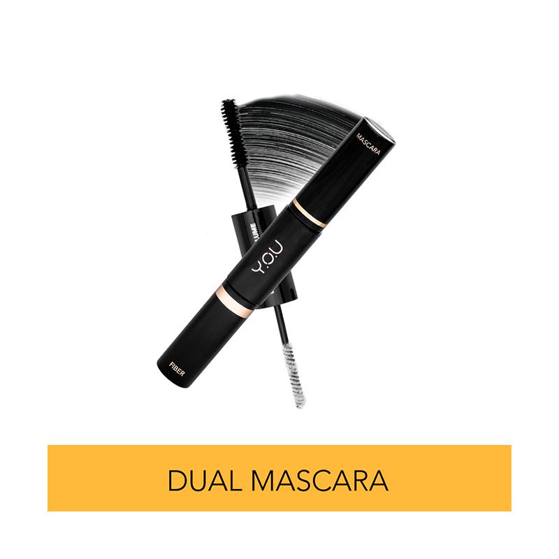 Y O U Dual Extra Volume Mascara