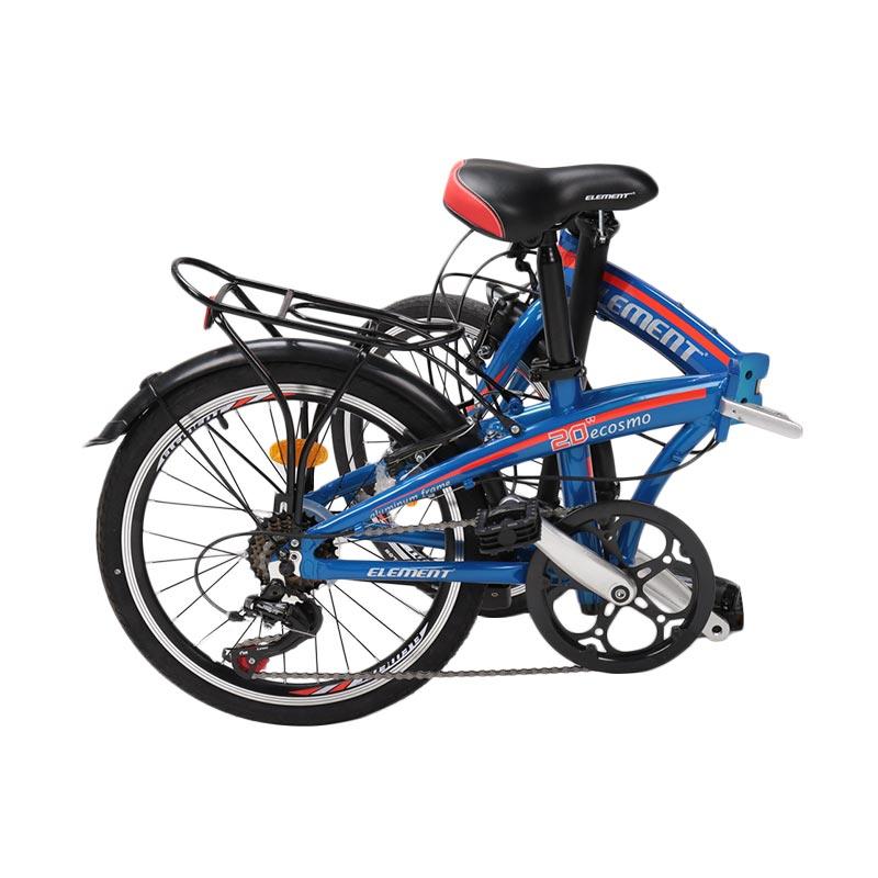 Jual Element E Cosmo Folding Sepeda Lipat - Blue Red ...