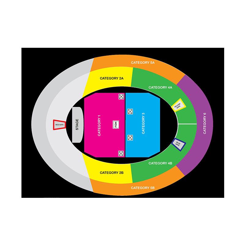 Jual Tiket Konser Ed Sheeran Jakarta Kategori 5 Divide World